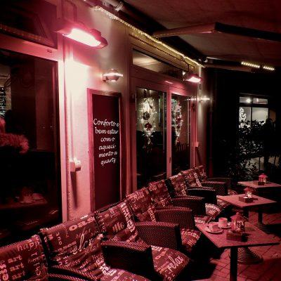 aquecimento exteriores quartz para bares